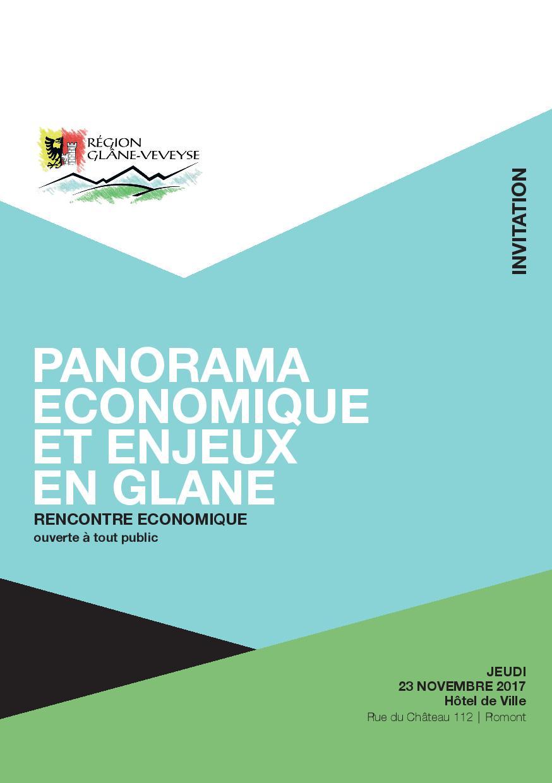 Panorama économique et enjeux en Glâne